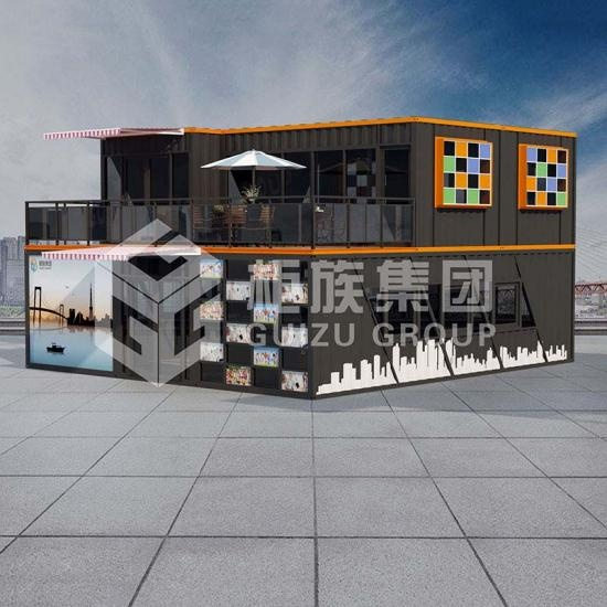 Duplex container office