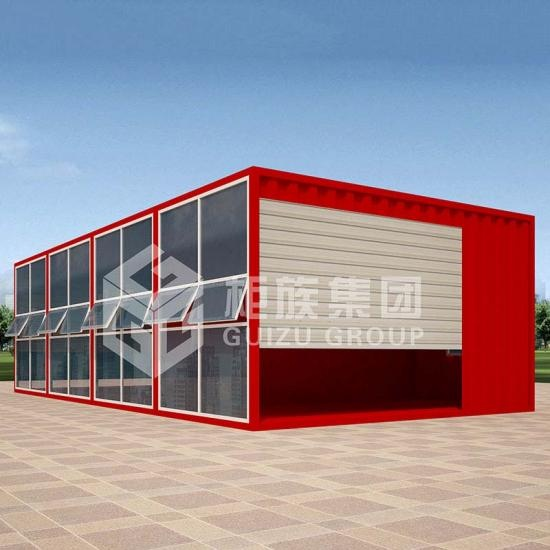 two storey container office
